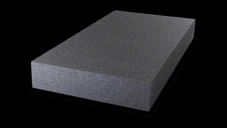 graue EPS-F plus Dämmplatte für die Fassade