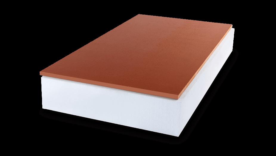 feuerfeste und begehbare Dachbodendämmung mit Schutzplatte