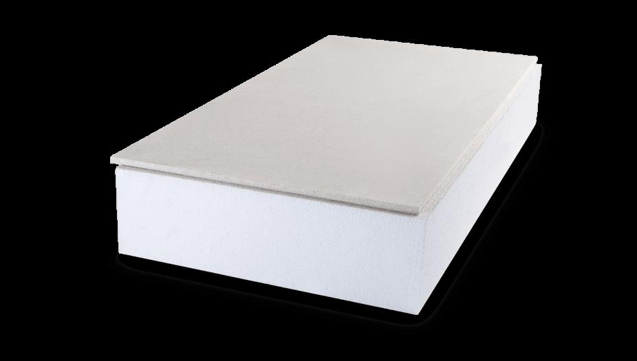 begehbare Dachboden Dämmung aus Styropor mit Schutzplatte