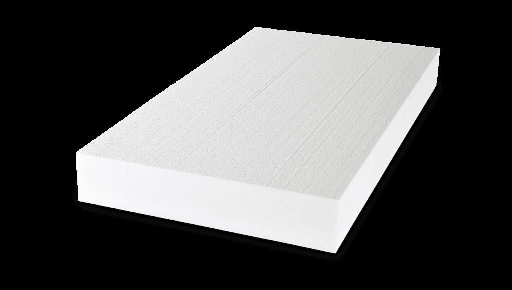 weiße Polystyrol Dämmplatte